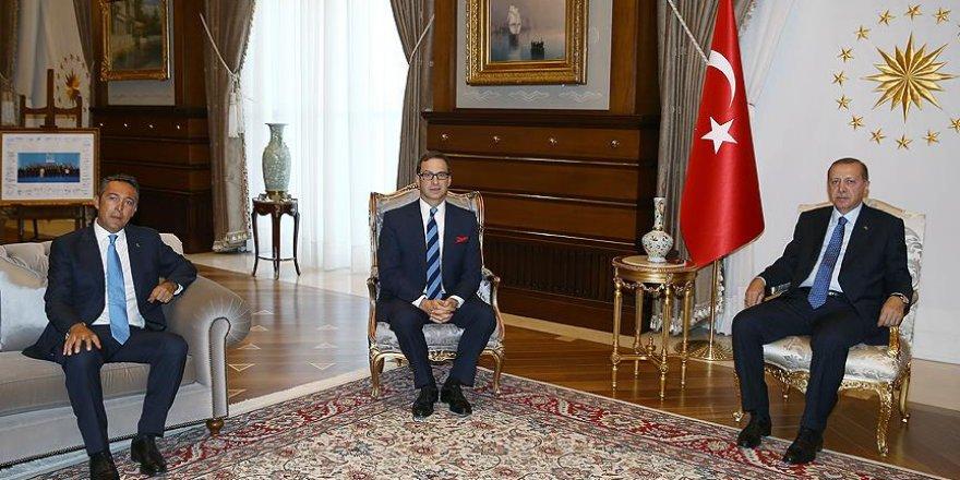 Erdoğan, Ömer Koç ve Ali Koç'u kabul etti