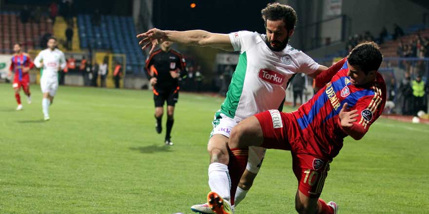Konyaspor-Karabükspor maçında 11'ler belli oldu