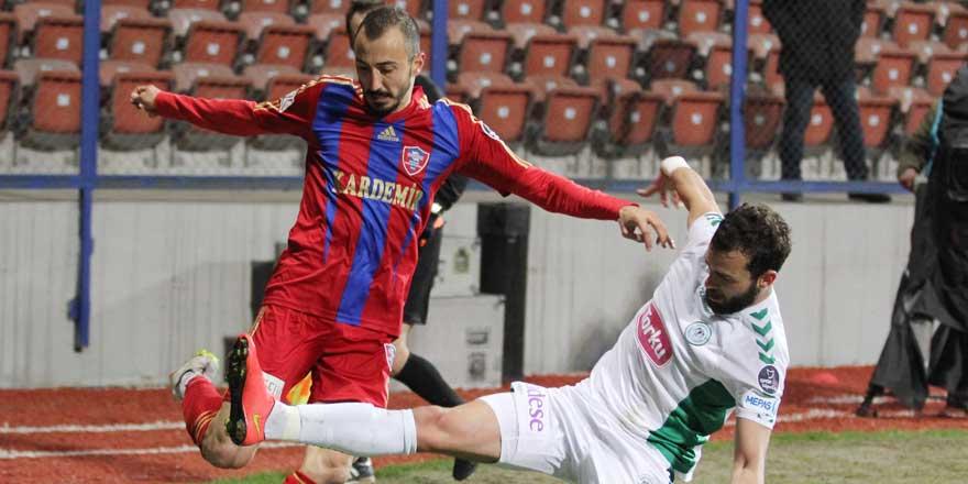 Atiker Konyaspor-Karabükspor maçı CANLI YAYIN