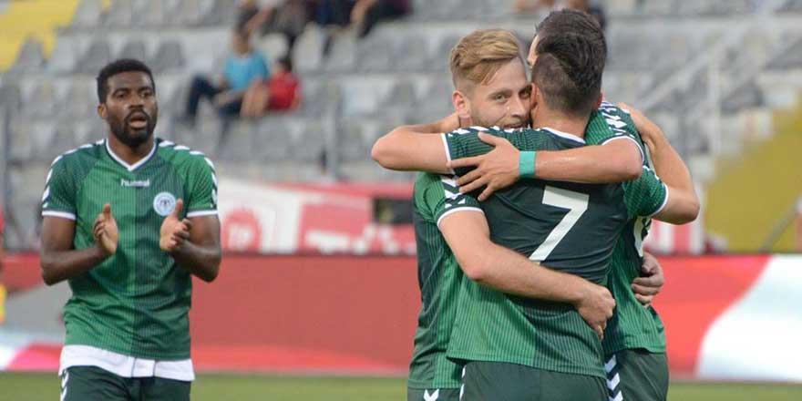Atiker Konyaspor finale yükseldi