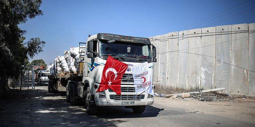 Başbakan Yıldırım: Gazze'ye yeni yardım sevkiyatı eylülde