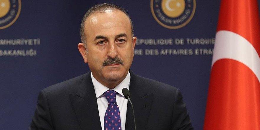 Çavuşoğlu: Filistin davası ve Orta Doğu barışına katkı sağlayacağız