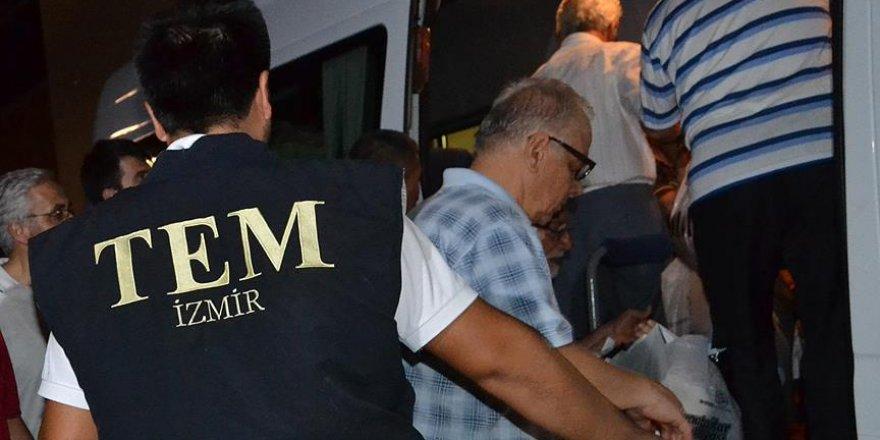 Ödemiş'teki FETÖ soruşturmasında 19 tutuklama