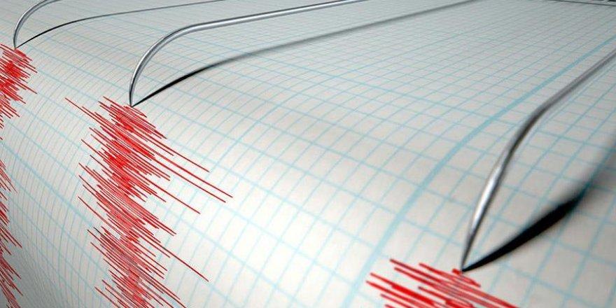 Büyük Okyanus'ta 7,2 büyüklüğünde deprem