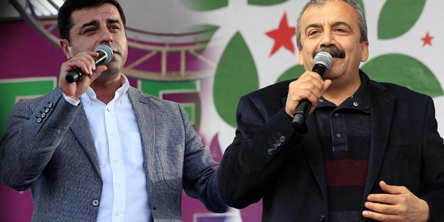 Selahattin Demirtaş ve Sırrı Süreyya Önder için 5 yıl hapis istemi