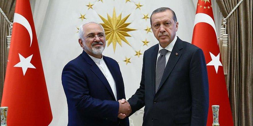 Erdoğan İran Dışişleri Bakanı Zarif'i kabul etti