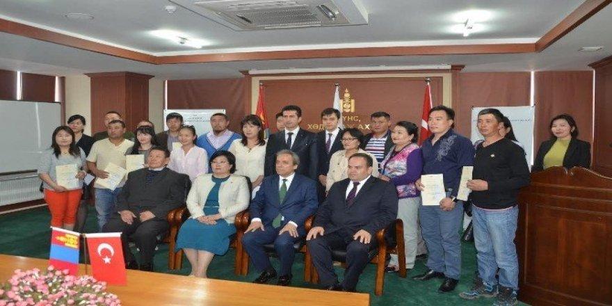 TİKA'dan Moğolistan'da hayvancılık sektörüne önemli katkı
