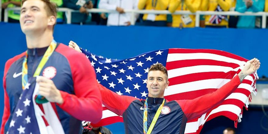 ABD Rio 2016'da liderliğini sürdürdü