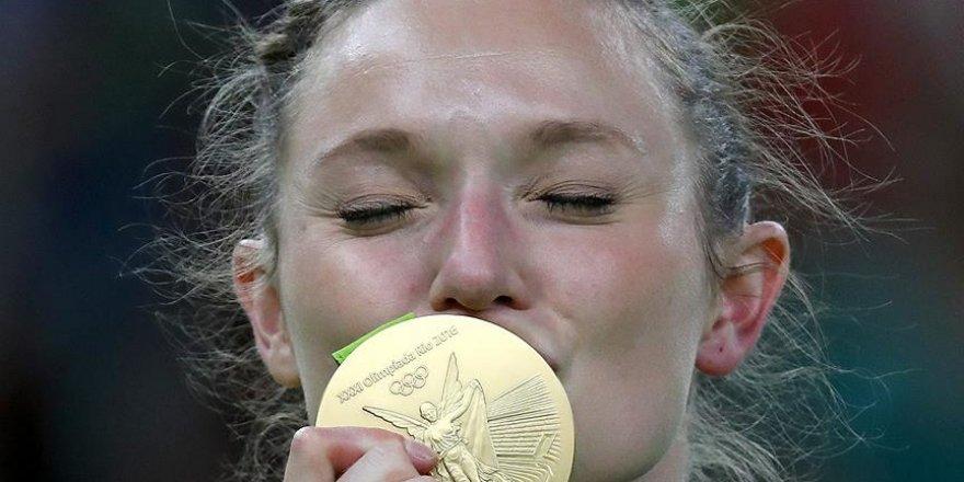 Trampolin cimnastikte altın madalya MacLennan'ın