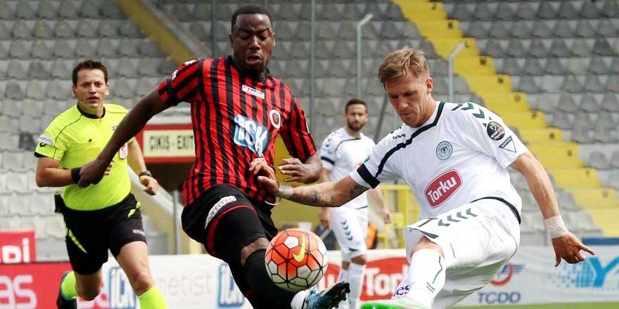 Atiker Konyaspor Gençlerbirliği ile kupa için mücadele edecek