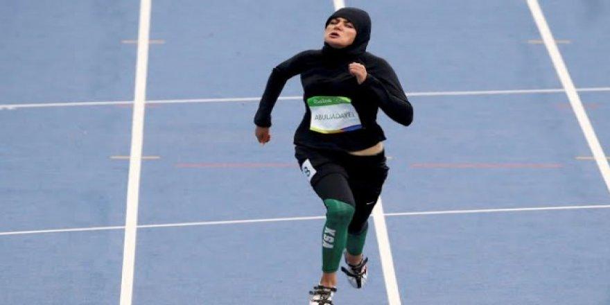 Suudi Arabistanlı sporcu tarihe geçti!