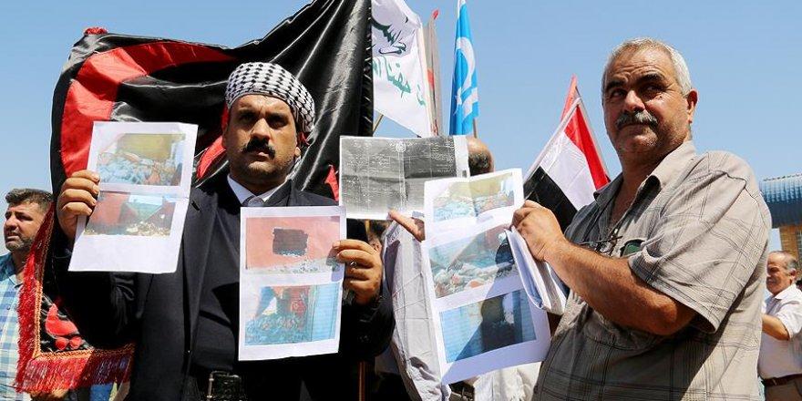 Türkmenler 'gasbedilen arazilerinin' geri verilmesini istiyor
