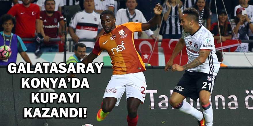 Galatasaray Konya'da Süper Kupa'yı kazandı!
