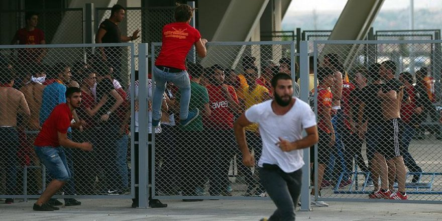 Konya'da 12 taraftar gözaltına alındı