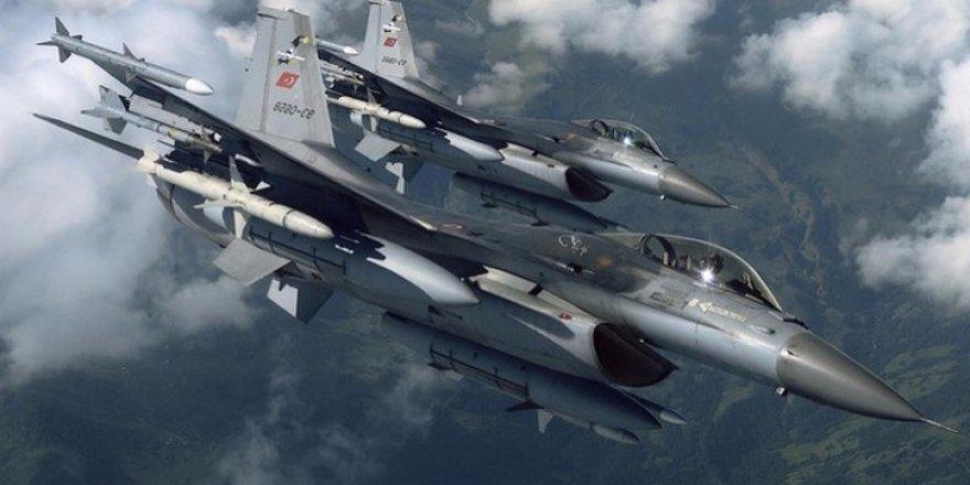 Şemdinli'deki PKK hedeflerine hava harekatı