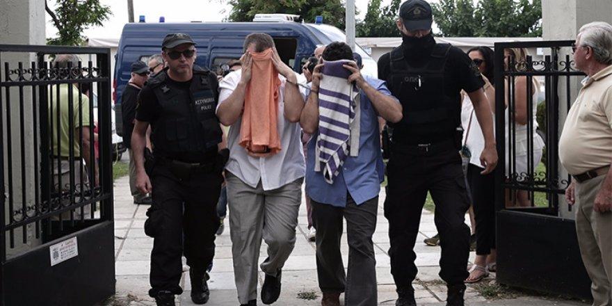 Yunanistan'a kaçan FETÖ'cü teröristler Çipras'a yalvardı