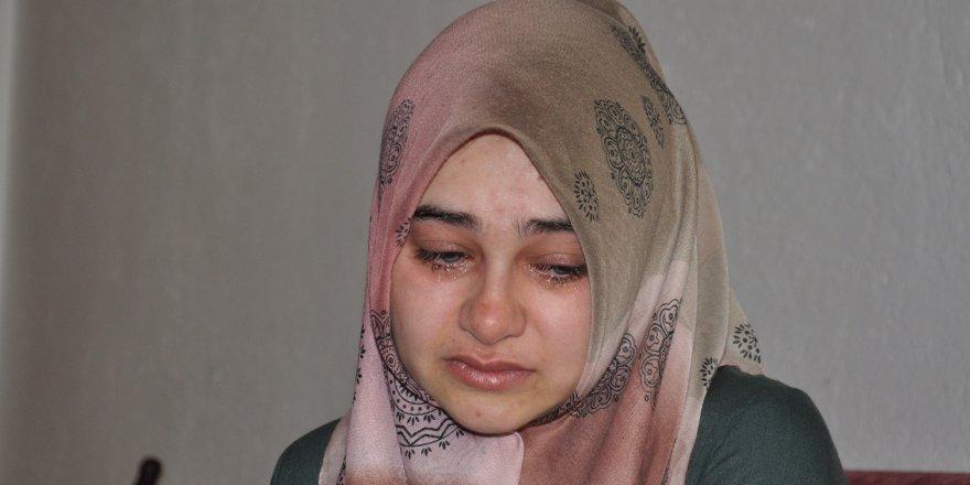 Konyalı şehidin hamile eşi hem ağladı hem ağlattı
