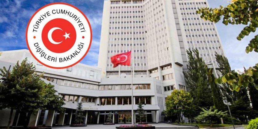 Dışişleri Bakanlığı, Yunanistan Milli Savunma Bakanını kınadı