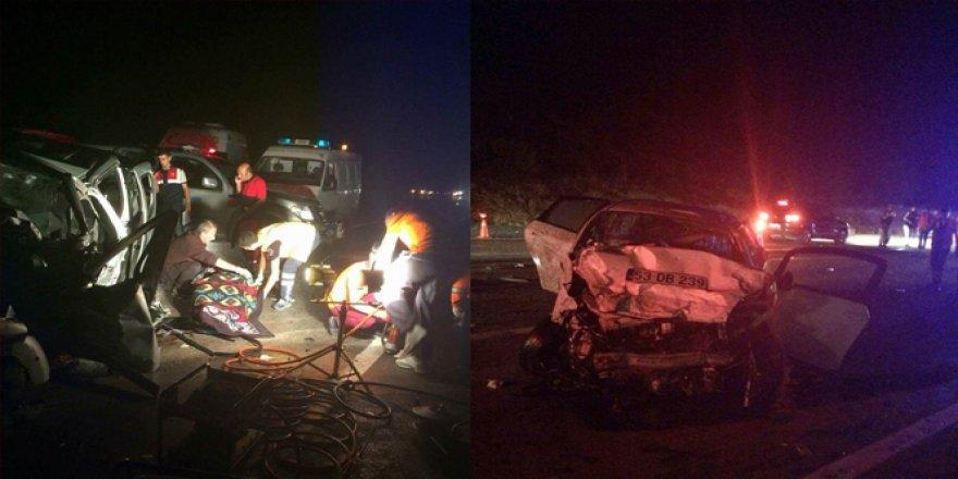 Sivas'ta feci kaza: 3 ölü, 5 yaralı