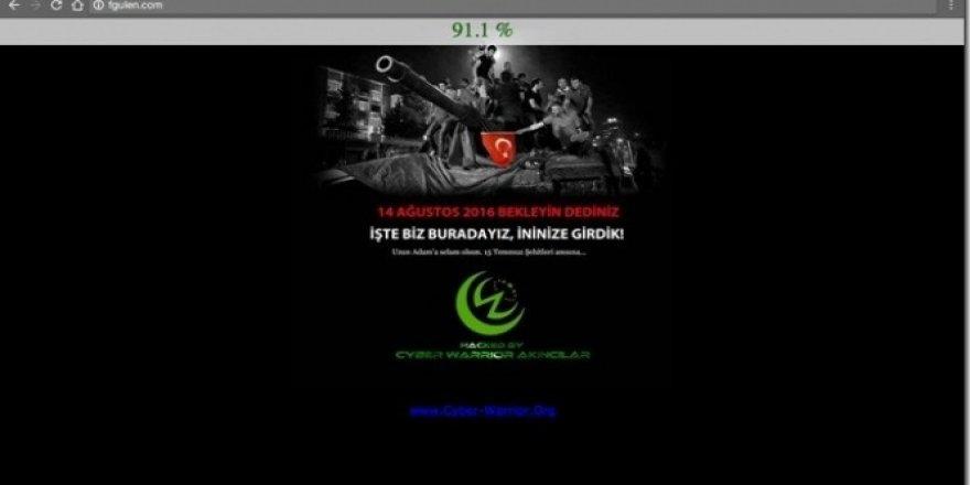 FETÖ lideri Fethullah Gülen'in resmi web sitesi hacklendi