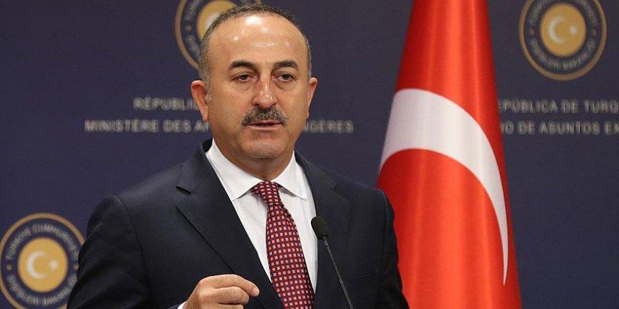 Çavuşoğlu'dan AB'ye rest