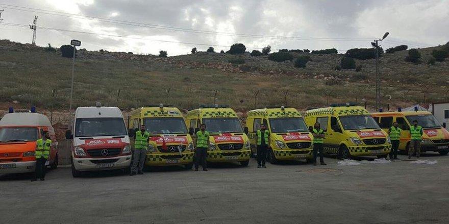 'Halep'te ambulanslarımız vuruldu'