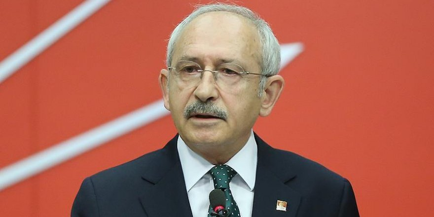 Kılıçdaroğlu: 'Birliğimize yönelik saldırıları kınıyorum'