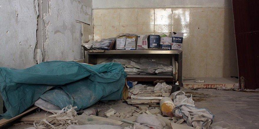 Yemen'de bir hastaneye hava saldırısı düzenlendi