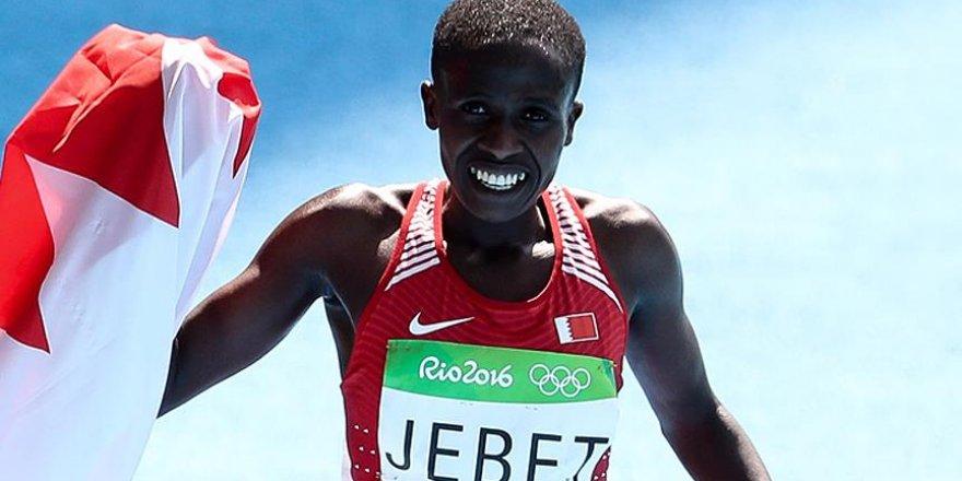 Ruth Jebet 3 bin metre engellide şampiyon