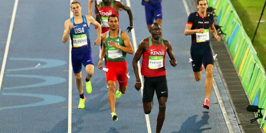 Kenyalı Rudisha üst üste ikinci kez olimpiyat şampiyonu