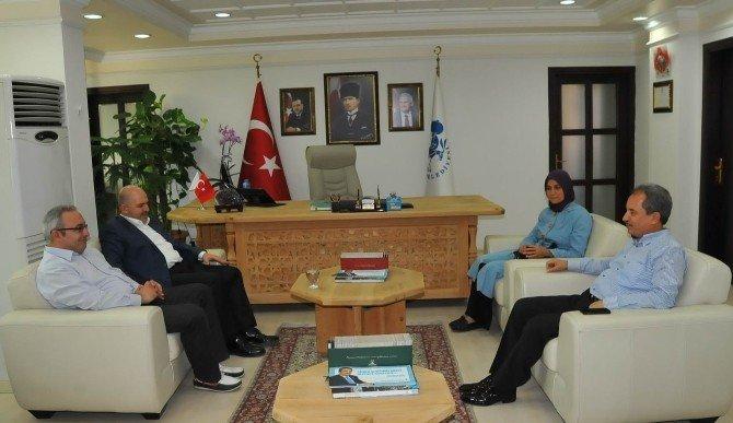 Milletvekili Mustafa Baloğlu'ndan, Başkan Akkaya'ya teşekkür ziyareti