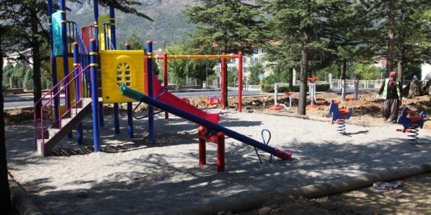 Okullar bölgesine yeni bir park