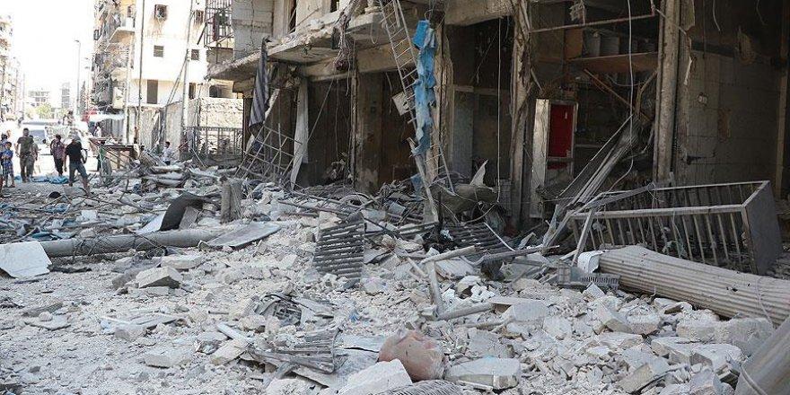 Halep'te pazar yerine saldırı: 20 ölü