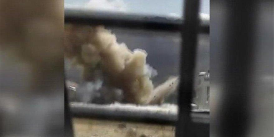 Tren yoluna tuzaklanan patlayıcı imha edildi