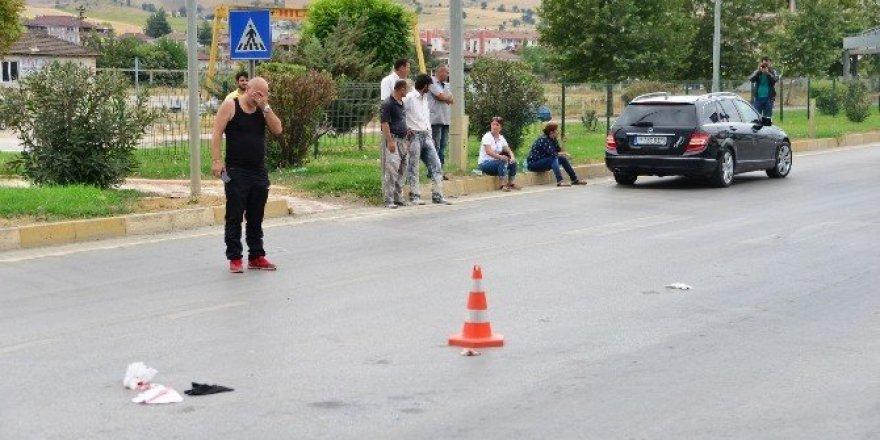 Erbaa'da kaza: 1 yaralı