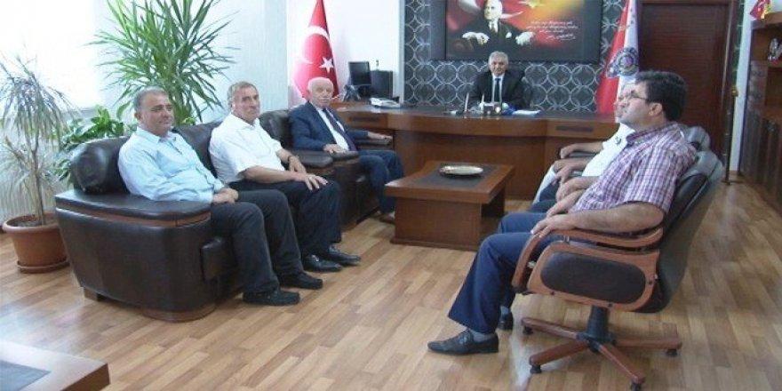 MHP'den Emniyet ve Jandarmaya ziyaret