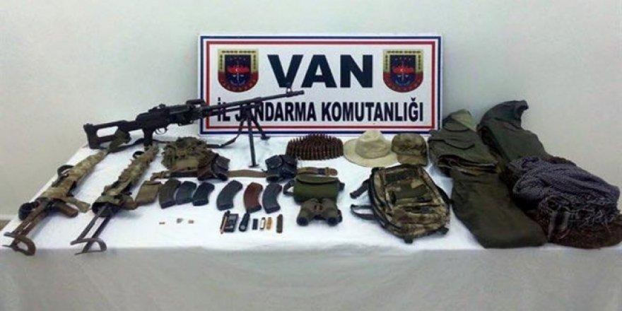 PKK'ya ait mühimmat ele geçirildi