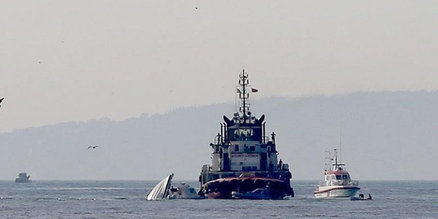 Sahil güvenlik botu alabora oldu: 1 şehit