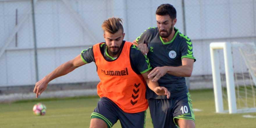 Konyaspor Rizespor'a hazırlanıyor
