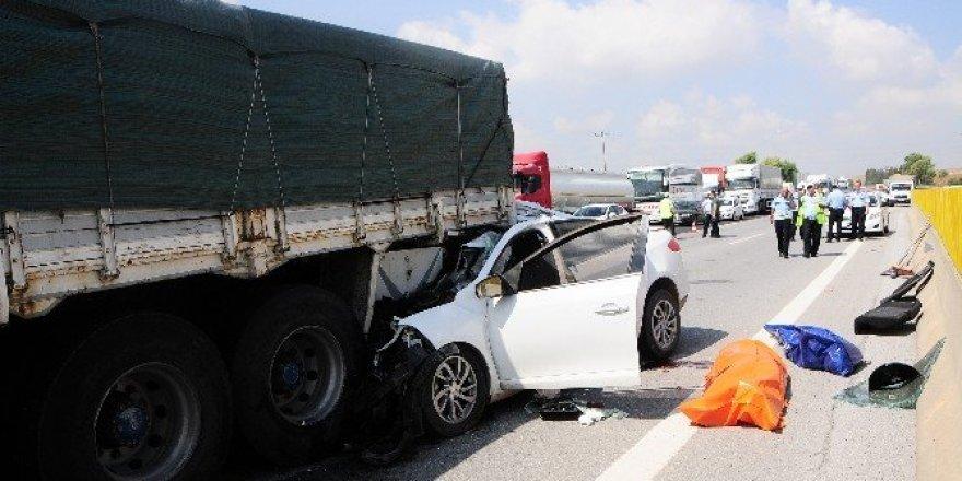 Rahatsızlanan sürücü kazaya neden oldu: 2 ölü