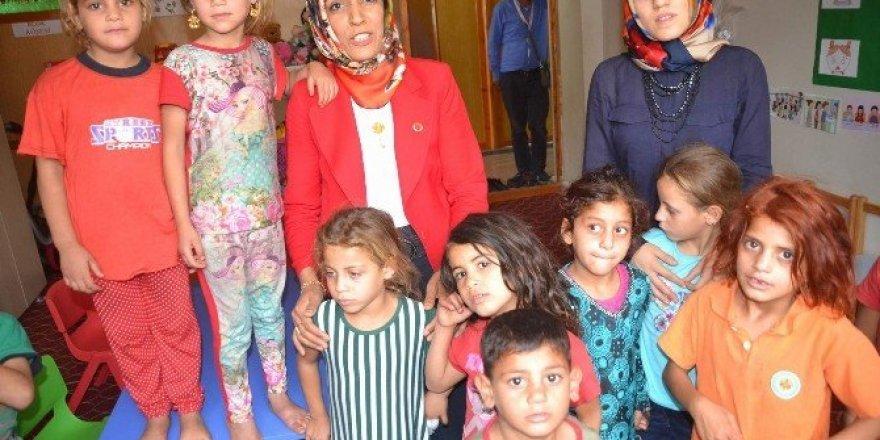 Suriyeli çocuklar Siirt'te rehabilite ediliyor