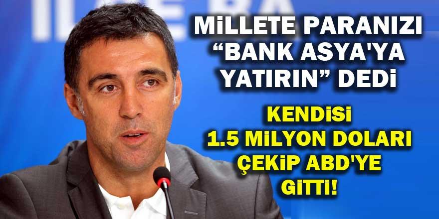Hakan Şükür'ün ABD'ye götürdüğü parayı açıkladı!