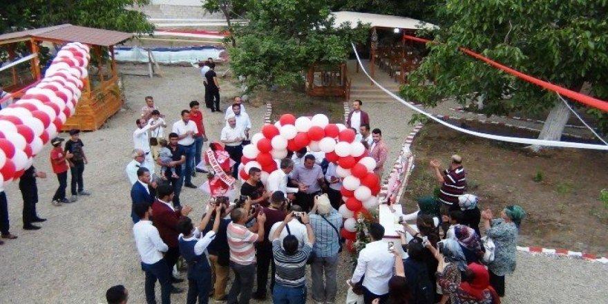 Erciş'te yöresel yemekler görücüye çıktı