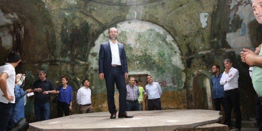 Tarihi Saray Hamamı restore ediliyor