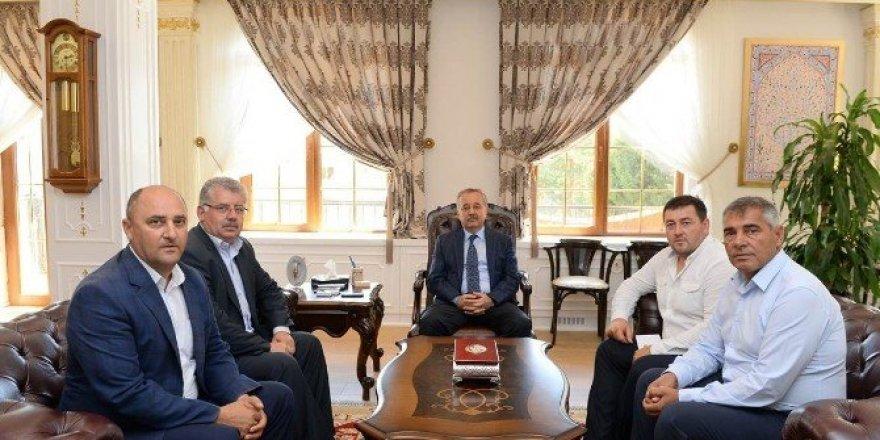 Edirne Valisi Özdemir, Koca Yusuf Güreşleri'ne davet edildi
