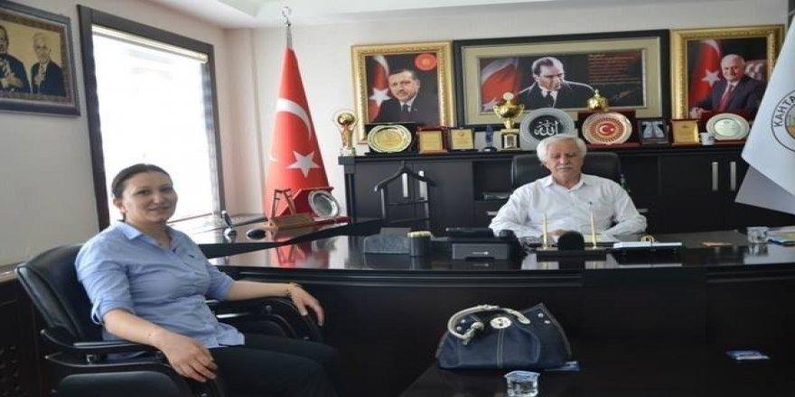 Mal Müdürü Satı Arslan'dan Başkan Toprak'a veda ziyareti