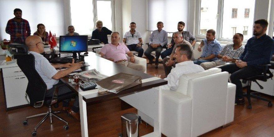 OGD'den yeni BİK Müdürü Yürekli'ye ziyaret