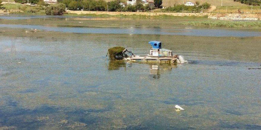 Gölkay'ın gölünde detaylı temizlik