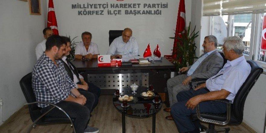 Başkan Baran, siyasi partileri ziyaret etti