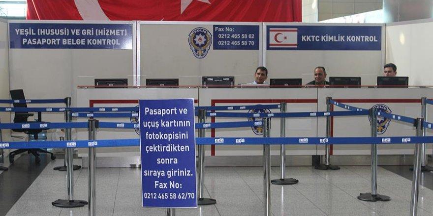 Atatürk Havalimanı'nda yeşil ve gri pasaportlulara özel banko